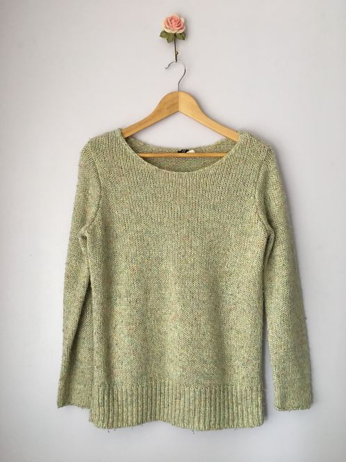KNITTED LONG JUMPER