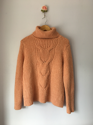 Cosy Knitted Turtleneck Jumper