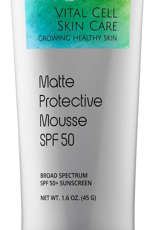 Matte Protective Mousse SPF 50