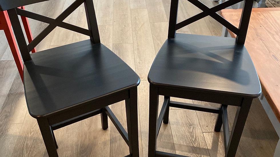 Black Beauty-2 counter seats