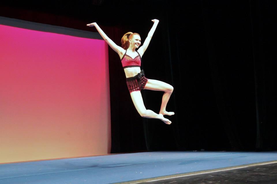 Morgan flying high