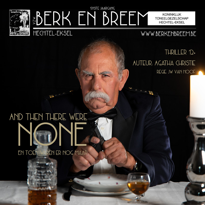 And Then There Were None - ZONDAG 01/12/2019