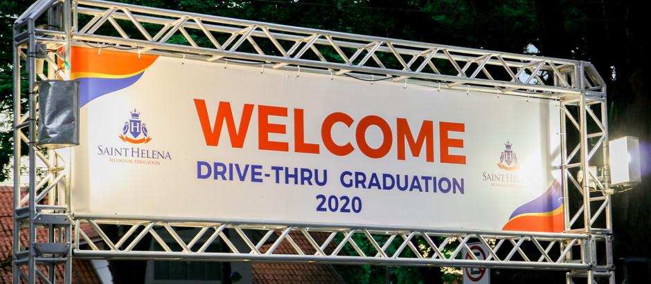 Drive-Thru Graduation 2020