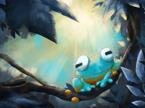 Forest Frog doodle