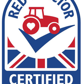 DRIVING THE RED TRACTOR
