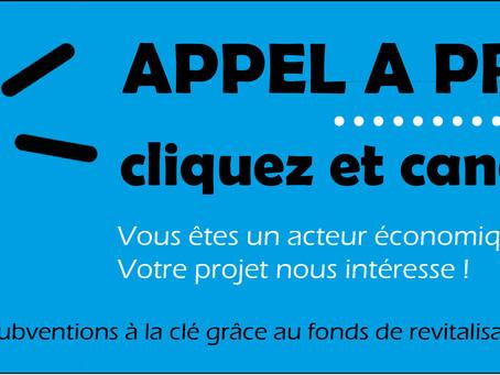 Vous êtes un acteur économique ? Votre projet nous intéresse !