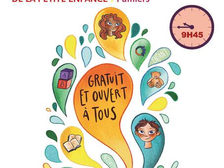 Les vendredis de la petite enfance reprendront le 30 avril