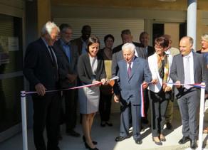 Inauguration de la nouvelle crèche de Mazères