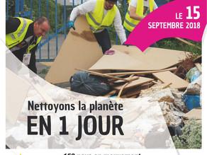 Nettoyons la planète !