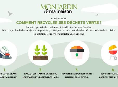 Comment recycler ses déchets verts ?