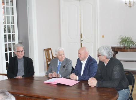 Signature d'une convention de partenariat avec la Chambre des Métiers et de l'Artisanat de l'Ari