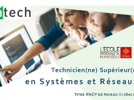 Formation de technicien système et réseaux : inscrivez-vous vite !