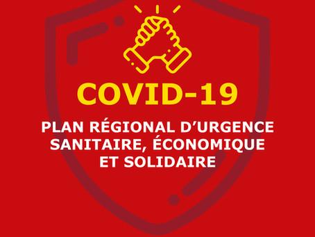 [COVID-19] Plan régional d'urgence