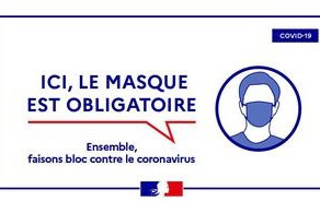 Port du masque en Ariège