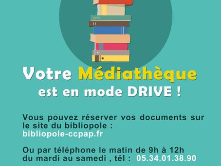 """La médiathèque de Pamiers en mode """"Drive"""""""
