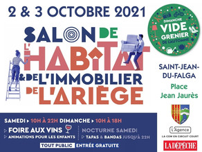 Salon de l'Habitat les 2 & 3 octobre prochains