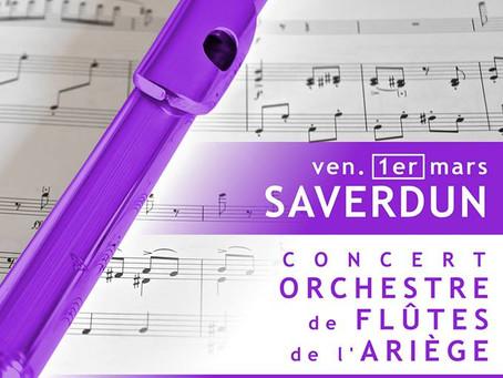 Concert de l'Orchestre de flûtes de l'Ariège