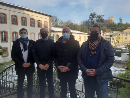 Rencontre avec Initiative Ariège
