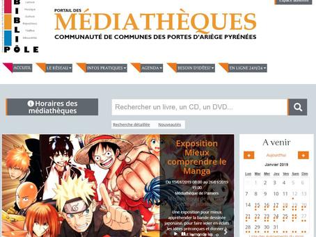 Lancement du portail des médiathèques !
