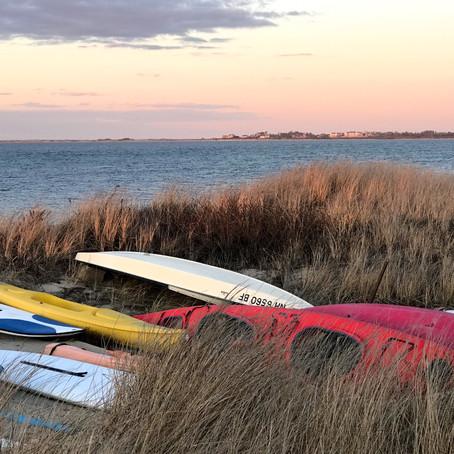 Colorful Nantucket Beaches