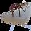 Thumbnail: Vigota TR8 p/ Laje Treliçada - TA  - 4,00 a 5,00 m - Sem Aço adicional