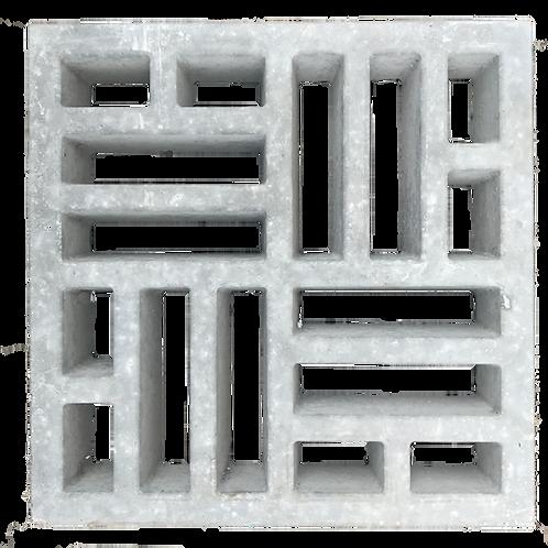 Cobogó Trama 39x39x7 cm - und