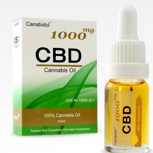 CBD Cannabis Oil 1000mg