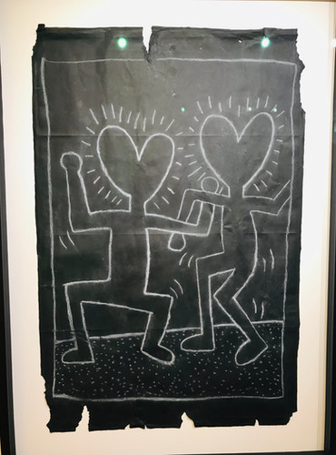 Keith Haring Sketch