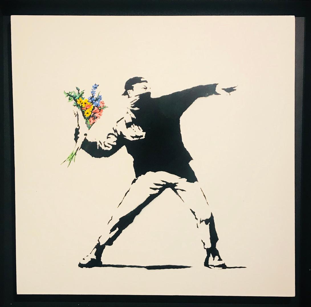 """""""Rage, Flower Thrower"""""""