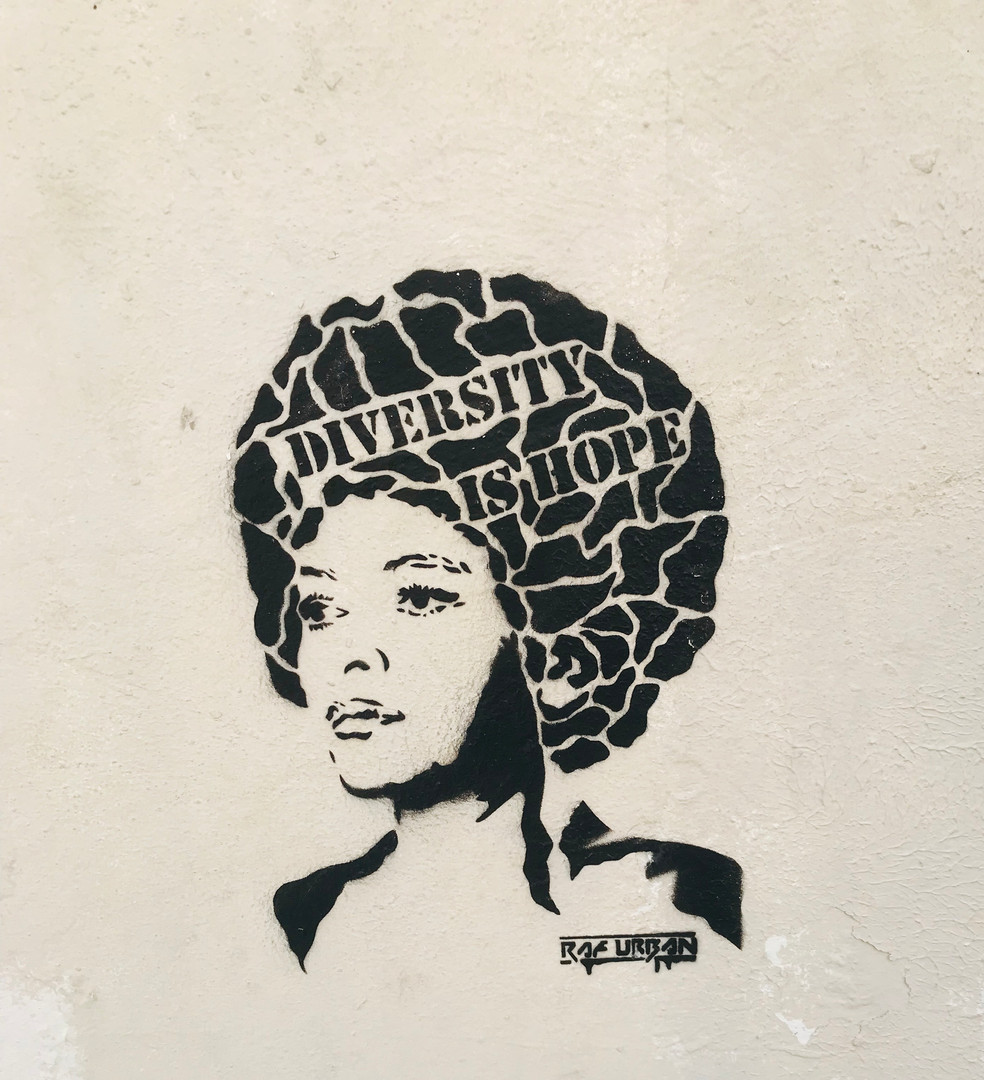 """Diversity is Hope"""