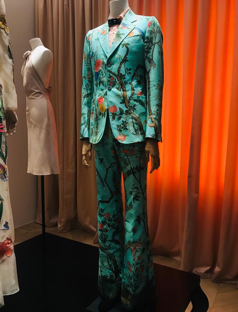 Harry Styles' Floral Suit
