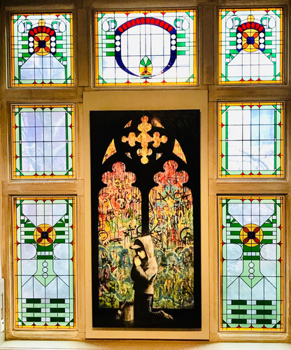 """""""Stained Glass Cathedral Window"""""""