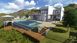 INFINITY POOL & GUEST HOUSE