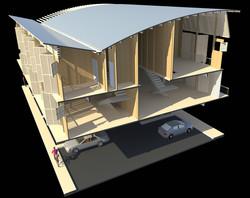 Ebisael Wood Building