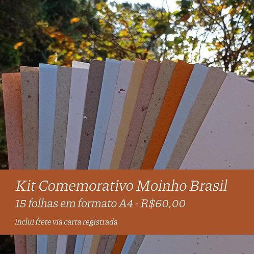 Kit Comemorativo - Moinho Brasil - A4