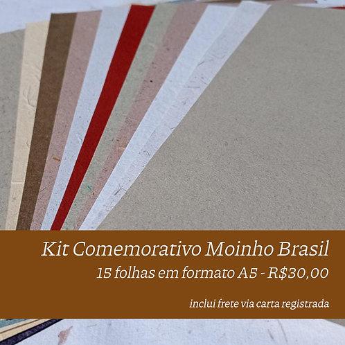 Kit Comemorativo - Moinho Brasil - A5