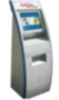 Locker rntal kiosk