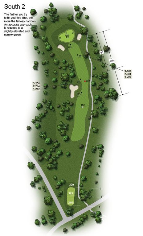Golf Hole Image