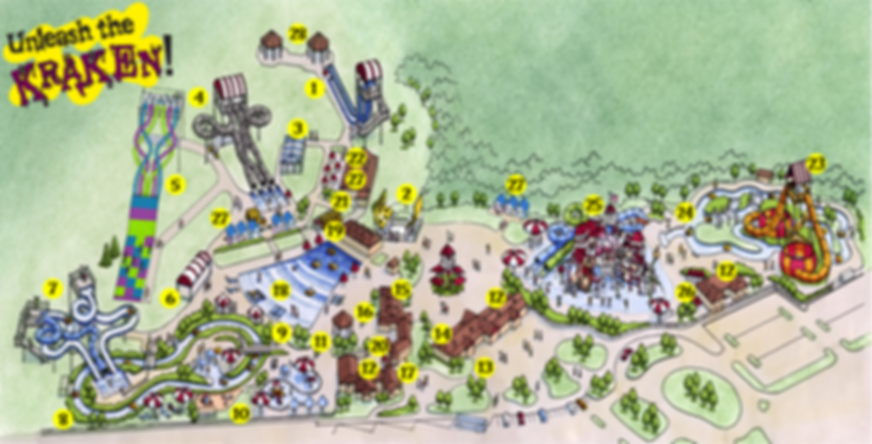 Map of Deep River Waterpark