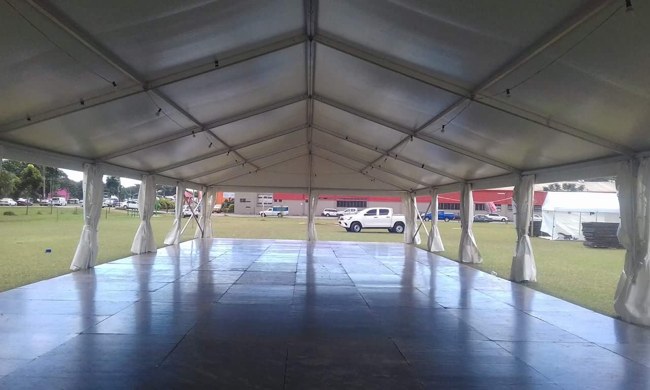 Executive Clear Span Tent 6