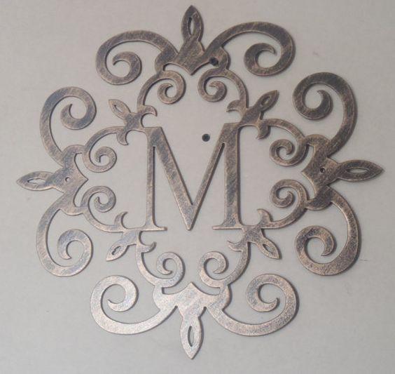Metal Plasma Cut Logo