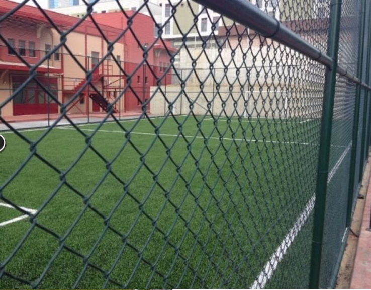 galvanized mesh fence-PVC coated