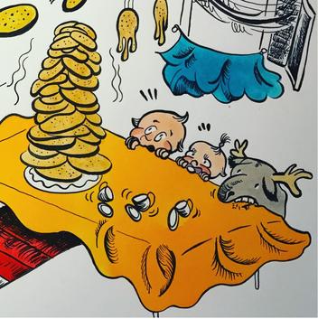excerpt from a children's illustration ä