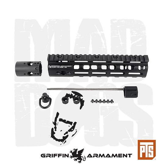 """PTS Griffin Armament Low Pro RIGID M-LOK Rail 8.6"""""""