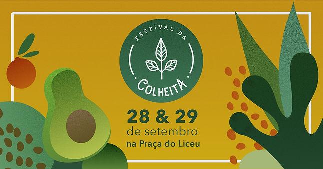 Banner festival da colheita!