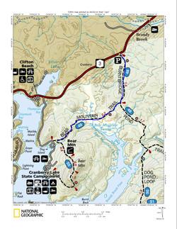 Bear Mountain Map 2