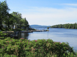 Cranberry Lake from NYS HWY 3