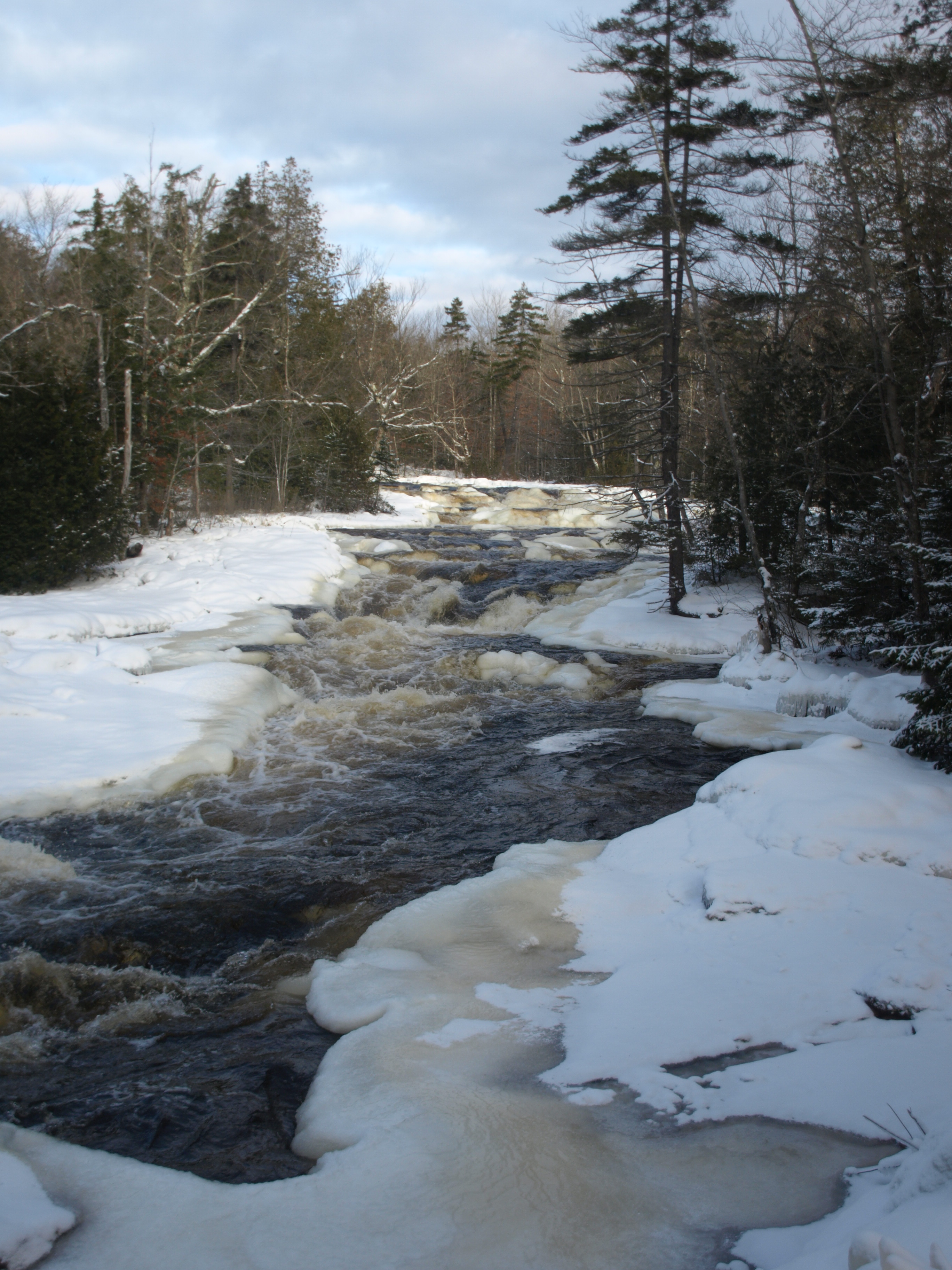 Copper Rock Falls Winter
