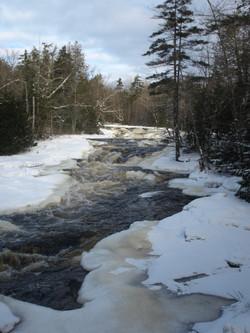 Copper Rock Falls Winter