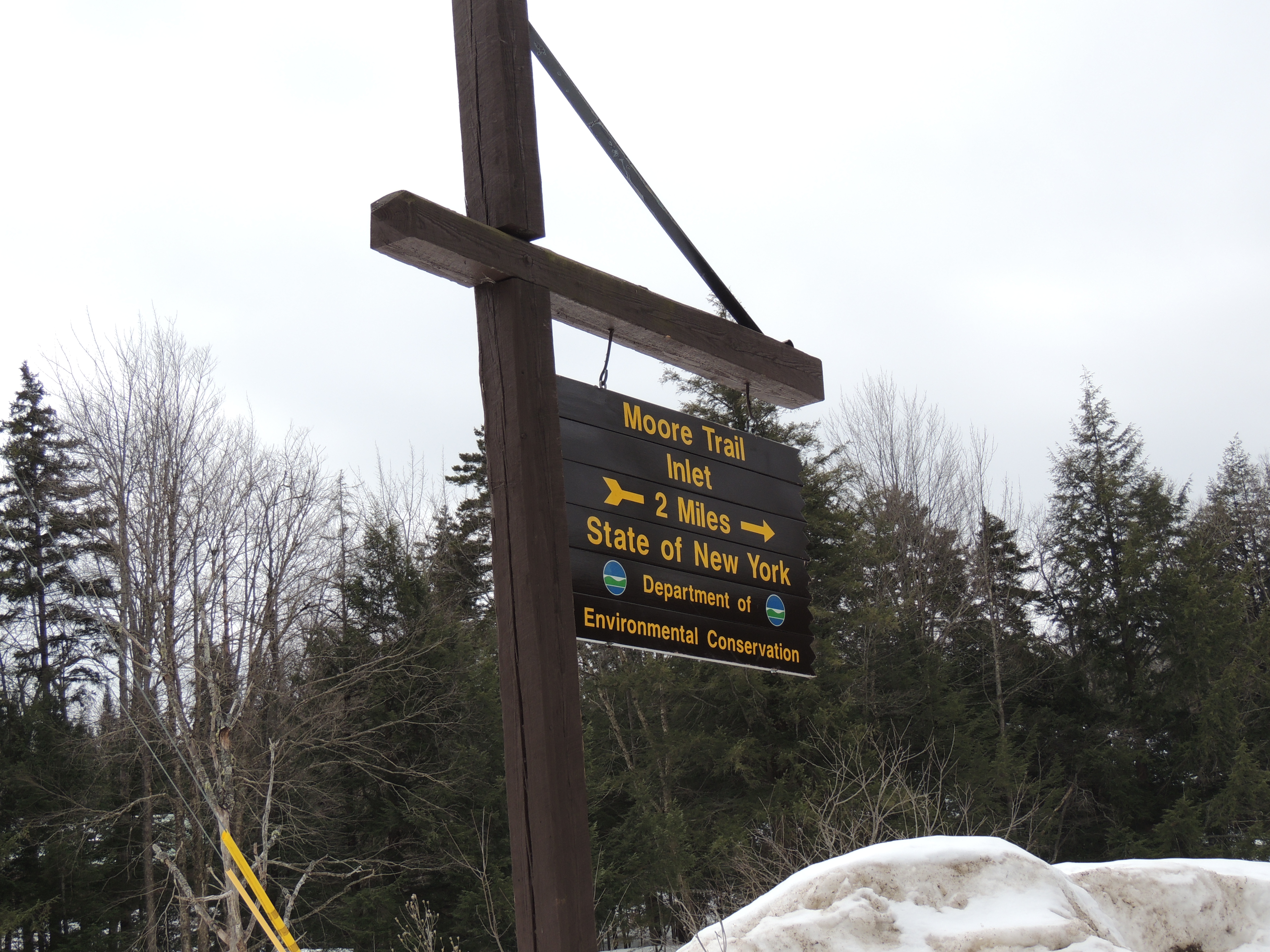 Moore Trail Signage